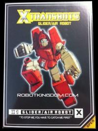 Pre-order for XTRANSBOTS GLIDER & WILD CHILD at Robotkingdom.com