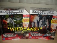 Transformers News: Transformers Prime Voyager Bulkhead and Starscream Released