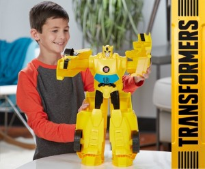 Transformers News: Enormous Transformers Super Bumblebee Figure Available at Kohl's and New Images