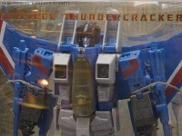 Transformers News: SDCC 2012 Coverage: Hasbro Masterpiece Optimus Prime and Thundercracker