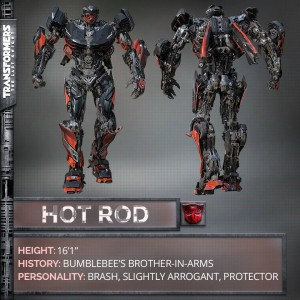 Transformers News: Transformers 5: The Last Knight Hot Rod revealed!