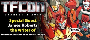 TFcon Charlotte Guest Update - James Roberts
