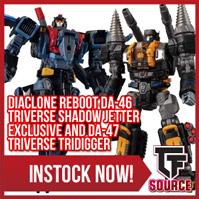 Transformers News: TFSource News - MMC Incursus, FH God Armor & Lightning Eagle, Diaclone Reboot and Xtransbots Restock