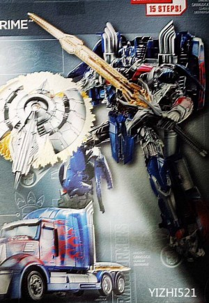 Transformers News: Transformers: Age of Extinction Optimus Prime Leaked Image