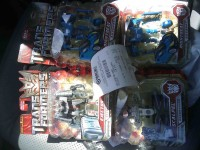 Transformers News: Transformers ROTF Scouts Ejector And Nightbeat Found At Target