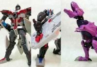 Transformers News: Takara United In-Hand Images: UN-28 Axalon, UN-30 Optimus Primal, UN-31 Beast Megatron