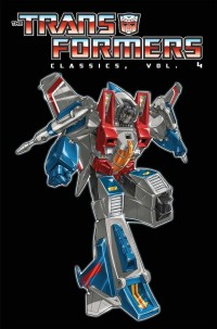 Transformers Classics Volume 4 Paperback Cover