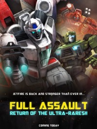Transformers News: TRANSFORMERS: LEGENDS Full Assault Update Starts Today