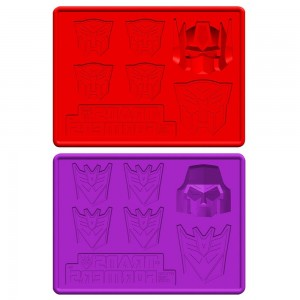 Transformers News: Kotobukiya Autobot and Decepticon 2-pack Ice Trays