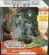 Transformers News: Transformers Prime Voyager Class Skyquake Available @ TRU.com And In Store!