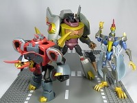 Transformers News: In-Depth Images of Takara Animated Swoop and Snarl