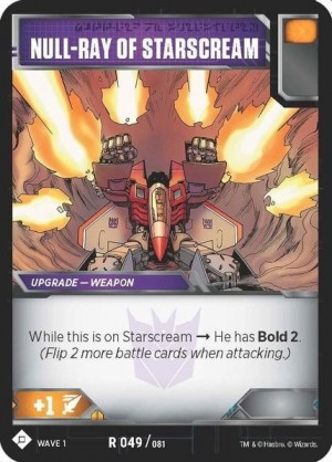 New upgrade card reveals for the Official Transformers Trading Card Game