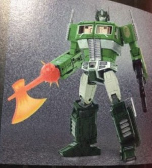 Transformers News: Bathing Ape Exclusive Camo MP-10 Optimus Prime