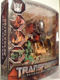 Transformers News: Hasbro's Legends Class Devastator in package images