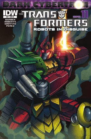 Transformers News: IDW Transformers: Robots in Disguise #27 (DC 11) Review