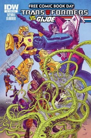 Transformers News: IDW Transformers vs. G.I. Joe #0 (FCBD) - Tom Scioli and John Barber Interview