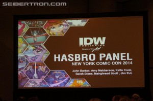 NYCC 2014 Coverage- IDW Hasbro Panel Gallery