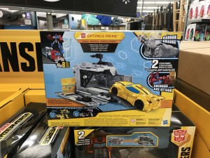 Transformers News: Transformers Cyberverse Optimus with Battle Trailer found at Walmart in the US with new Rescue Bots