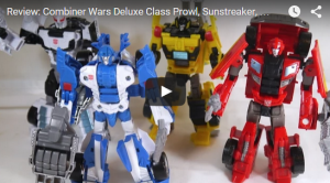Video Review - Transformers Generations Combiner Wars Wave 4 Deluxes