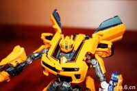 Transformers News: First Look at Deluxe Movie Battle Blades Bumblebee