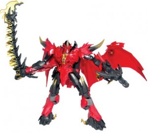 Transformers News: Official Images: Takara Tomy Transformers Go! G23 Guren Dragotron