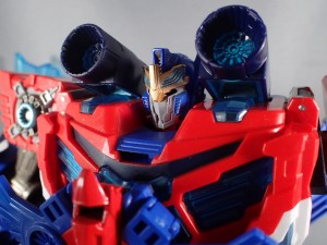 Quick Written Review of Takara Tomy Transformers Adventure TAV 50 Hyper Surge Optimus Prime