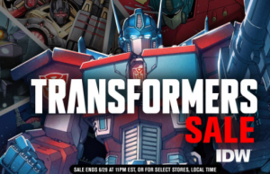 Transformers News: Steal of a Deal: IDW Transformers Sale 50%Off Digital Comics