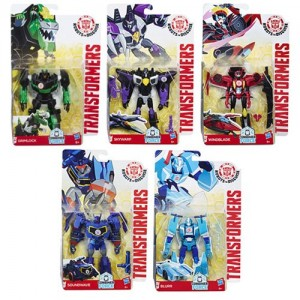 Preorder for Robots in Disguise Wave 11, with Soundwave Blurr and Skywarp, Shows Case Breakdown