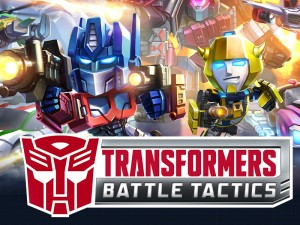 Transformers News: New Transformers: Battle Tactics Mobile Game from DeNA