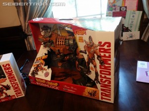 Transformers News: How It's Made: Stomp And Chomp Grimlock Exhibit At Pawtucket Arts Festival