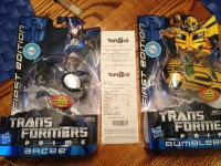 "Transformers News: Transformers Prime ""First Edition"" Figures Sighted at US Retail"