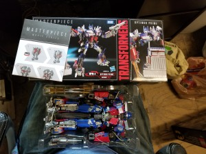 Transformers Movie Masterpiece MPM-4 Optimus Prime At US Retail