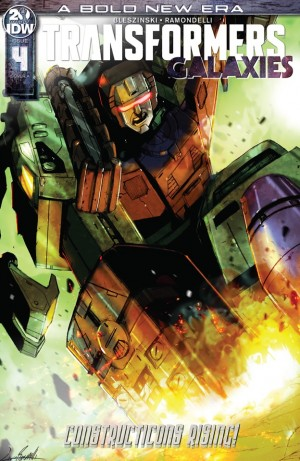 Transformers News: Apple Books 3 Page Preview Of IDW Transformers Galaxies #4