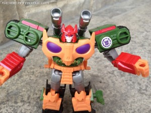 Pictorial Review of Robots in Disguise Warrior Bludgeon