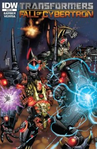 Transformers News: Transformers: Fall of Cybertron #3 Preview