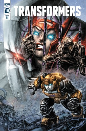 IDW Transformers Comics March 2020 Solicitations