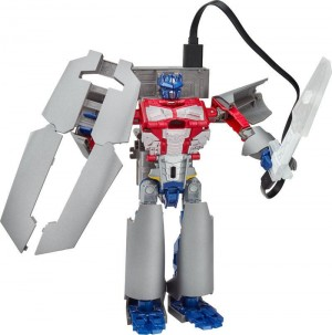 Transformers News: #HASCON Exclusive Power Bank Optimus Prime Review