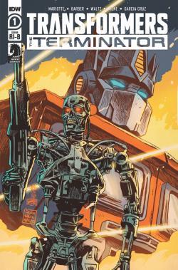 IDW Transformers Vs Terminator 1 Review