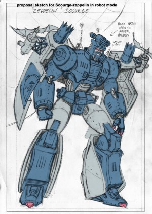 IDW Hearts of Steel Scourge Guido Guidi Concept Art