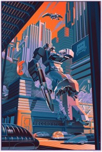 Transformers News: New Acidfree Gallery Soundwave Print Revealed