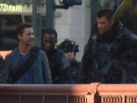 Transformers News: Photos from Friday night's filming of Transformers 3 in Chicago