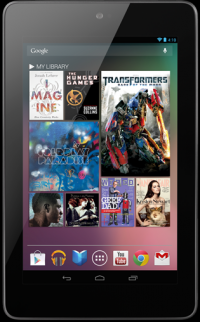Transformers News: Transformers: Dark of the Moon Featured as Free Content on the Google Nexus 7 Tablet