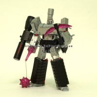 Hegemon (3rd party Megatron) update: more images, size comparison and price!