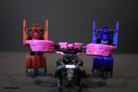 Transformers News: Transformers Generations Fall of Cybertron Data Discs Rumble / Ravage and Ratbat / Frenzy Video Review