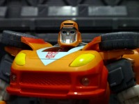 Transformers News: In-Hand Images: Transformers Generations GDO Deluxes Swerve, Wheelie, Cliffjumper, and Springer
