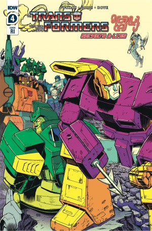 Preview for Transformers '84 Secrets and Lies #4 and Cover Details from Casey Coller and Nick Roche