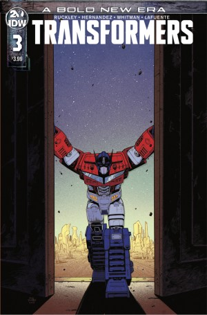 Transformers News: IDW Transformers #3 Review