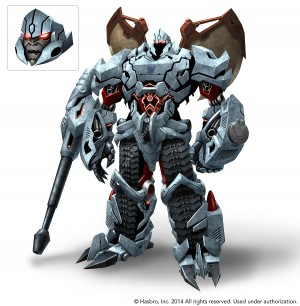 Transformers News: Emiliano Santalucia Megatron Character Model