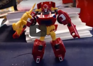 Transformers News: Video Review for Transformers Generations Combiner Wars Legends Rodimus