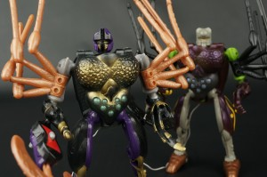 Transformers News: New Galleries: Takara Beast Wars D-4 Tarantulas and D-8 Blackarachnia